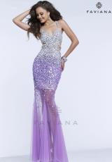 Faviana S7394.  Available in Golden White, Orchid/Silver, Seafoam/Silver
