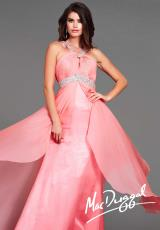 2014 Flash Beaded Straps Prom Dress 64433L