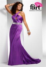 2012 Fitted Silhouette Flirt Prom Dress P4662