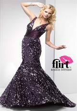 Flirt P5676.  Available in Black, Midnight Amethyst