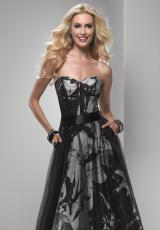 2013 Gorgeous Print Flirt Prom Dress P5753