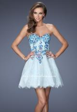 2014 La Femme Lace Skirt Prom Dress 19973