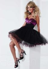 Hannah S 27811.  Available in Black/Fuchsia, Royal/Royal