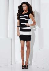 Hannah S 27828.  Available in Black/Ivory, Turquoise
