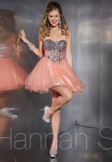 Hannah S 27878.  Available in Peach, Royal