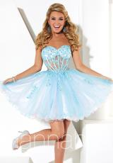 2014 Hannah S Corset Top Homecoming Dress 27921