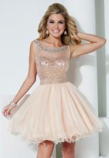 Hannah S 27955.  Available in Champagne Blush, Royal