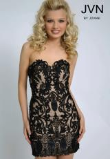 2014 JVN by Jovani Applique Homecoming Dress JVN20426