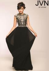 JVN by Jovani JVN24413.  Available in Black, Blush, White