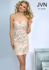 JVN by Jovani JVN81242.  Available in Nude