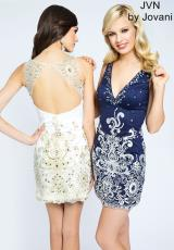 JVN by Jovani JVN90308.  Available in Black, Ivory , Navy