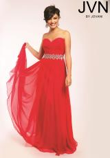 JVN by Jovani JVN22470.  Available in Light Pink, Watermelon, White