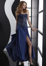 Jasz Couture 4571.  Available in Midnight, Turquoise, Vanilla