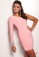 Jasz Couture 4706.  Available in Black, Pink