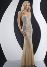 Jasz Couture 4970.  Available in Champagne