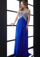 Jasz Couture 5013.  Available in Pink, Royal, White