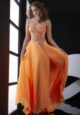 Jasz Couture 5028.  Available in Orange, Pink