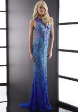 Jasz Couture 5058.  Available in Black/Gold, Royal, Turquoise, White/Gold