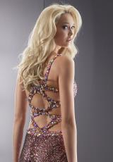 Jasz Couture 5062.  Available in Gold, Purple