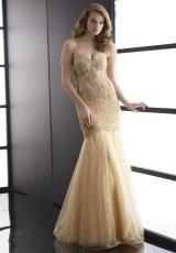 Jasz Couture 5077.  Available in Blue, Gold