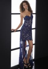 Jasz Couture 5078.  Available in Navy, Red
