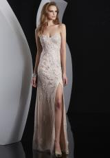 Jasz Couture 5100.  Available in Ivory/Pink