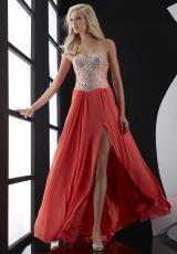 Jasz Couture 5217.  Available in Orange