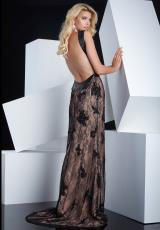 Jasz Couture 5346.  Available in Nude/Black, White/Nude