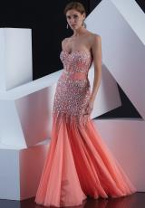 Jasz Couture 5353.  Available in Coral, Mocha