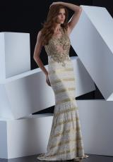 Jasz Couture 5356.  Available in Gold