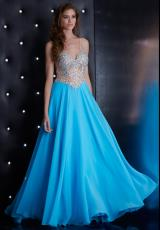 Jasz Couture 5424.  Available in Coral, Sky Blue
