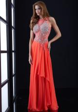 Jasz Couture 5426.  Available in Coral, Periwinkle