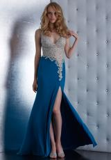 Jasz Couture 5436.  Available in Black, Dark Teal, Magenta