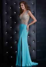 Jasz Couture 5444.  Available in Black, Mint