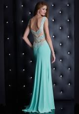 Jasz Couture 5447.  Available in Black, Mint, Pink
