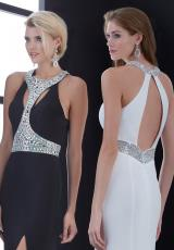 Jasz Couture 5458.  Available in Black, Red, White