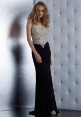Jasz Couture 5463.  Available in Black, Red