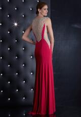 Jasz Couture 5474.  Available in Black, Fuchsia, Red