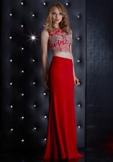 Jasz Couture 5490.  Available in Black, Red
