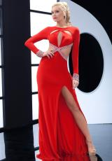Jasz Couture 5494.  Available in Black, Red