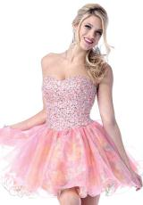 2013 Johnathan Kayne Short Print Prom Dress 214