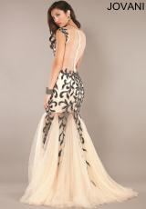 Jovani 926.  Available in Nude/Black