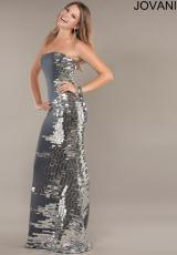 Jovani 736.  Available in Black, Grey, White