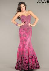 Jovani 6796.  Available in Black, Fuchsia