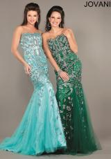 Jovani 3008.  Available in Aqua, Blush, Hunter, Nude, Orange, Pink, Taupe