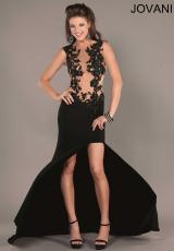 Jovani 2255.  Available in Black/Nude
