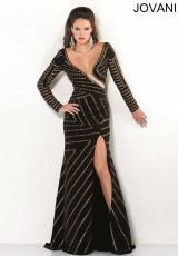 2013 Jovani Sleeved Prom Dress 2965