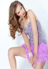 2013 Beaded Jovani Homecoming Dress 1335