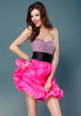 2012 Organza Jovani Homecoming Dress 1588