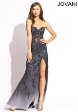 Jovani 1684.  Available in Blush, Grey